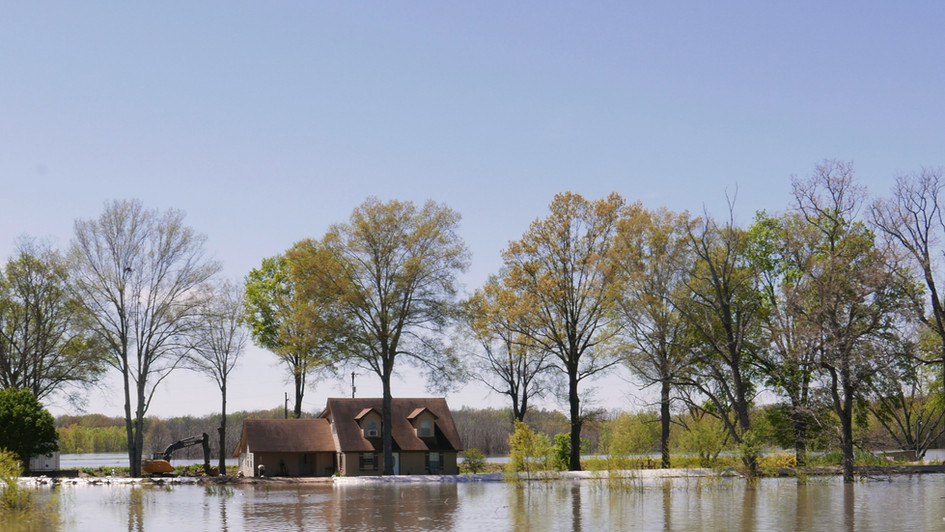 Mississippi flood, 2019