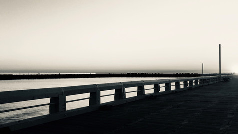 Pier of Oostende, Belgium, 2020