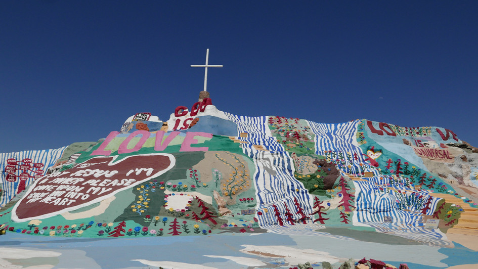 Salvation Mountain, California, USA, 2019