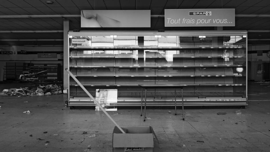 Abandoned store, Belgium, 2019