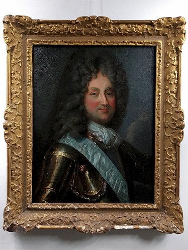 Portrait du Régent, Philippe d'Orléans, par un suiveur de Santerre