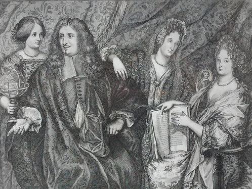 Charles Patin et sa famille, Joseph Juster, France, 1691