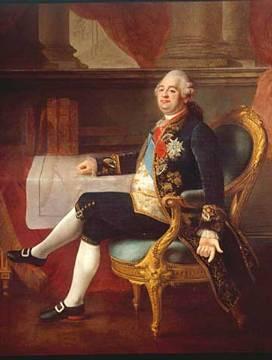 Louis XVI,, roi de France.