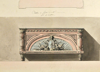 Une commode doublement royale par Lalonde