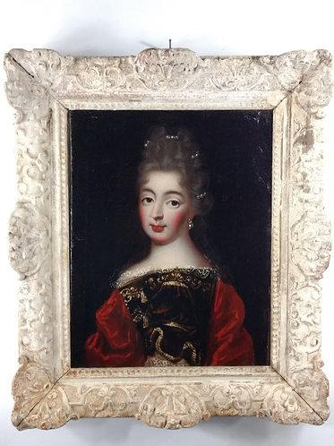 Mademoiselle de Fontanges (?), fin du XVIIe siècle