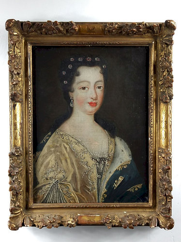 Elisabeth-Charlotte d'Orléans, duchesse de Lorraine, début du XVIIIe siècle