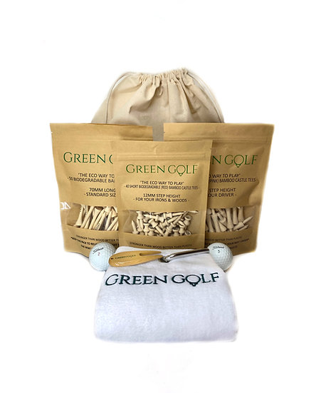 Deluxe GreenGolf EcoEssentials Pack