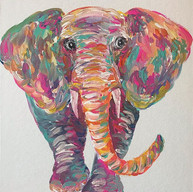 🐘!! 11x14in $35 . (I can make more of a