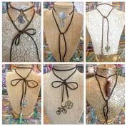 New designs of my Suede Wrap Necklaces!