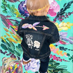 Stepping into the weekend like 👶🏻 🎨 ?