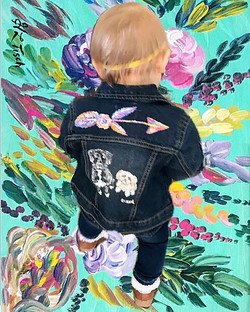 Stepping into the weekend like 👶🏻 🎨 �