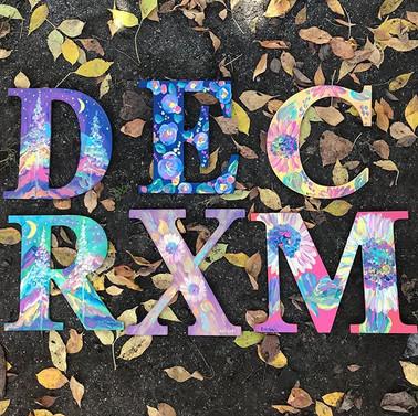 New letter designs!! Order custom letter