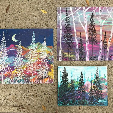 Painted these beauts last night! 🙌🏻🎨?