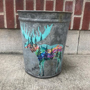 Hand Painted Retired Sap Buckets! How wo