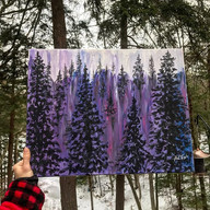 Inspired by those Adirondack pines and w
