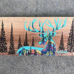 Custom deer for a dear friend! 🎨🖌🦌 —