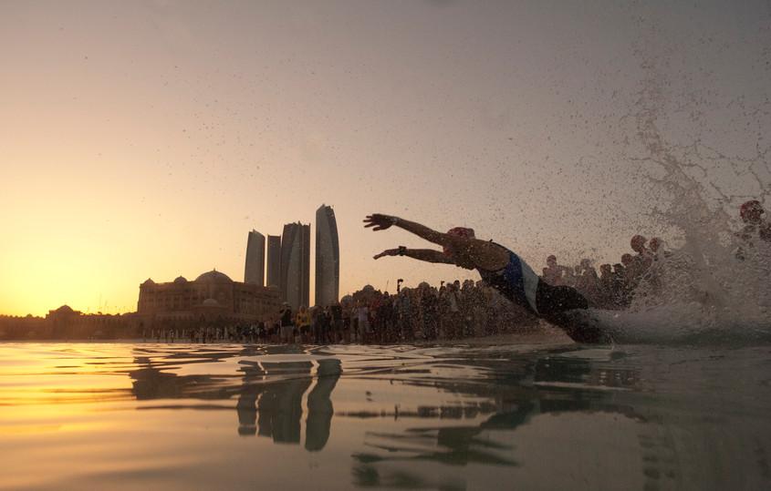 Kristin Moller Abu Dhabi triathlon