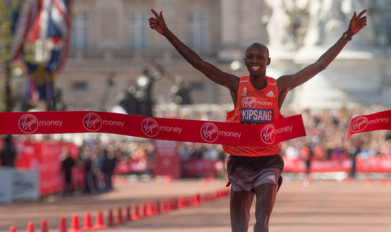 Wilson Kipsang London Marathon