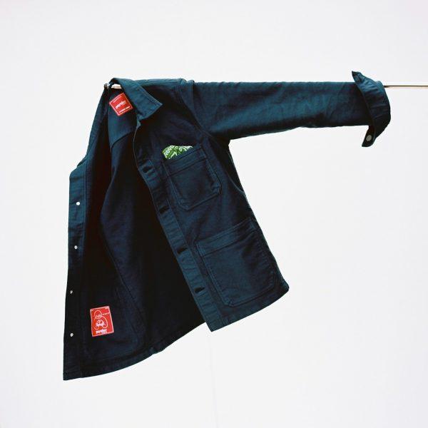 Paynter jacket hung on a stick