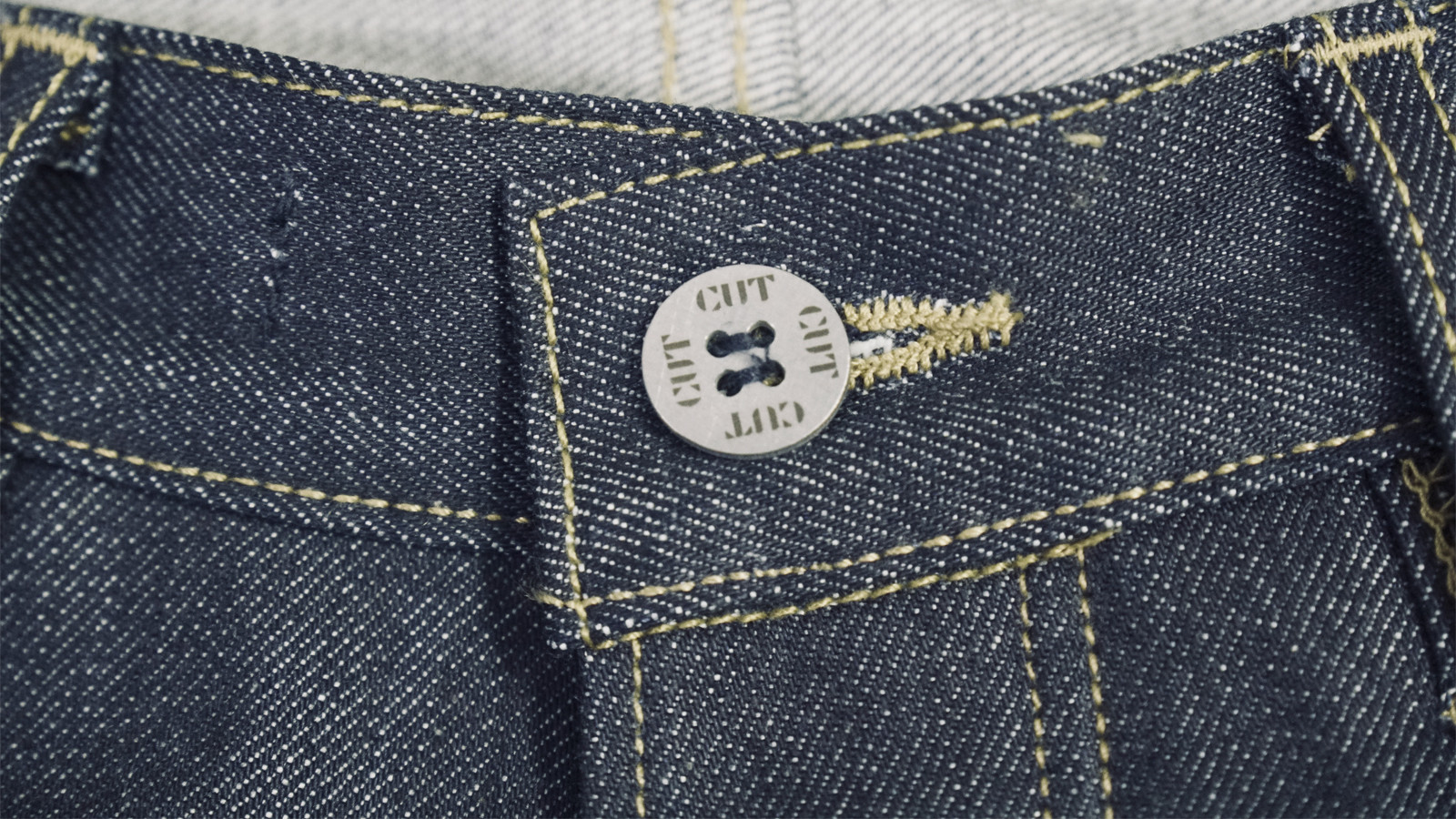 Detail of CUT Jeans. Photo by David