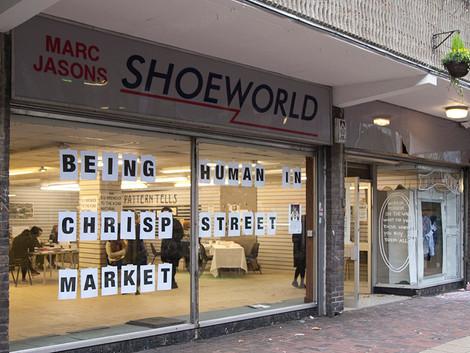 Being Human in Chrisp Street Market