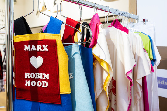 Marx 4 Kids, 2013, felt. Photo Katy Davies
