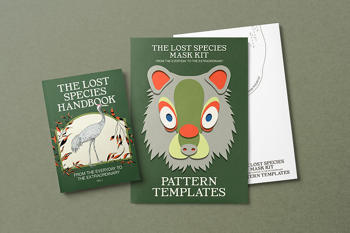 The Lost Species Mask Kit
