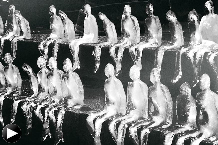 Melting Icemen by Néle Azevedo