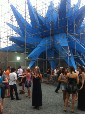 Catalytic Clothing air purifying sculpture collaboration MOMA PS1 New York