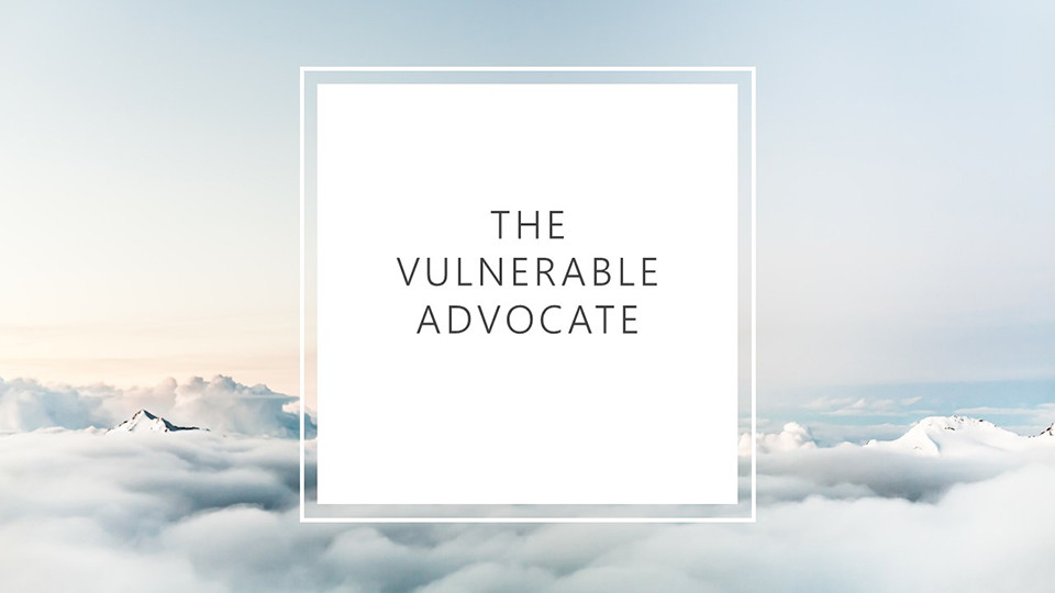 the vulnerable advocate Eleanor Snare discusses the nature of fashion, sustainability and innovation