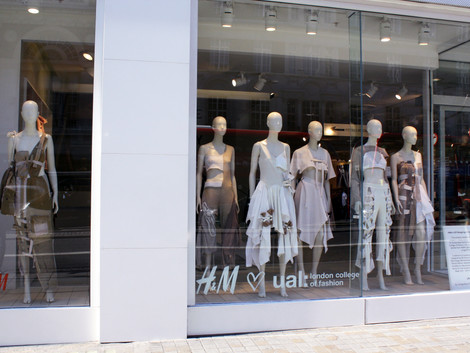 H&M x LCF on the Strand