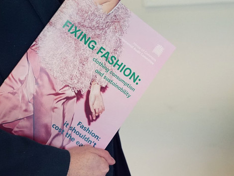 Professor Dilys Williams' response to  'Fixing Fashion: Clothing and Sustainability