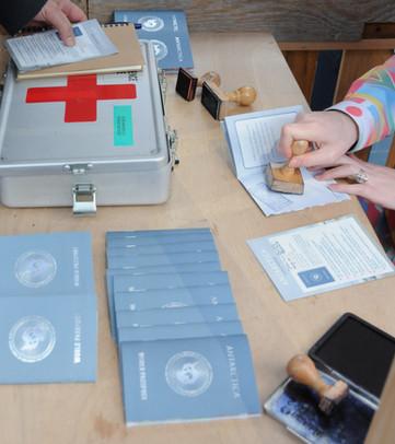 The Antarctica World Passport Office COP21 Paris / Geneva, 2015