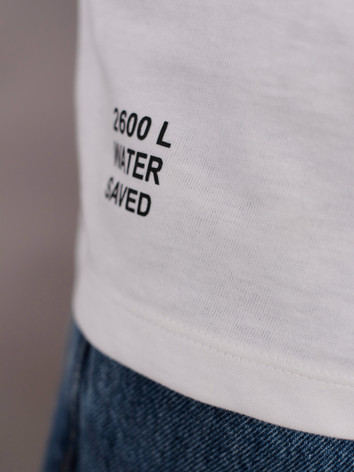 Recycled cotton T-shirt