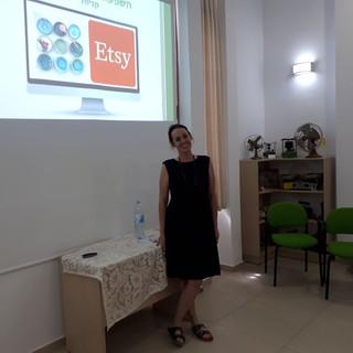 הרצאה במרכז יום לקשיש