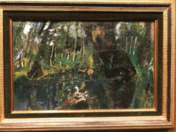 The Duck Pond at Champigny 1943