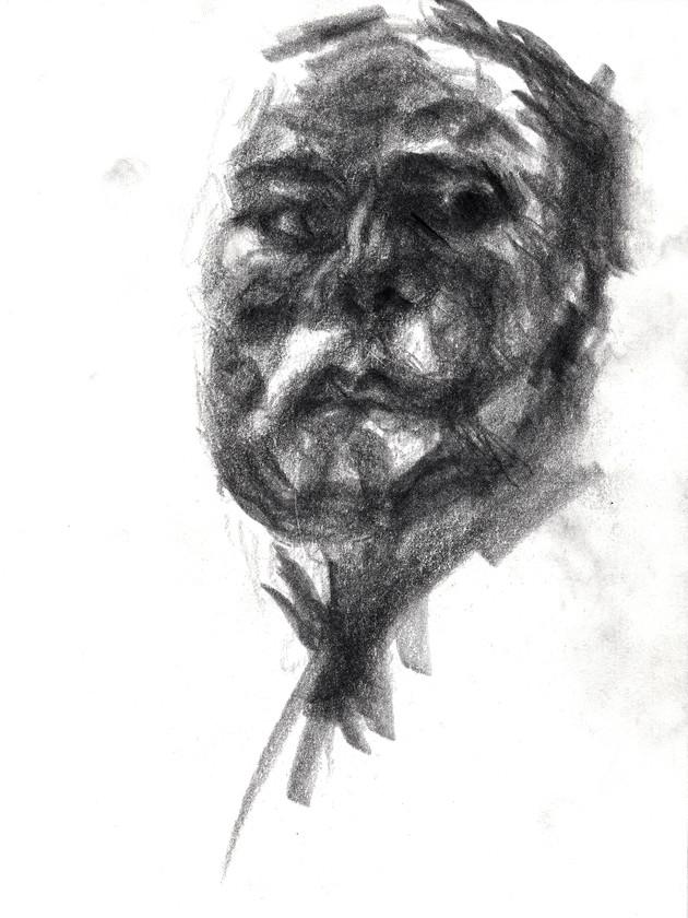 Reflected Self-Portrait II