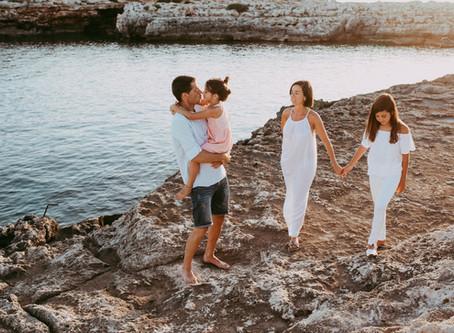 Reportatge familiar a Menorca