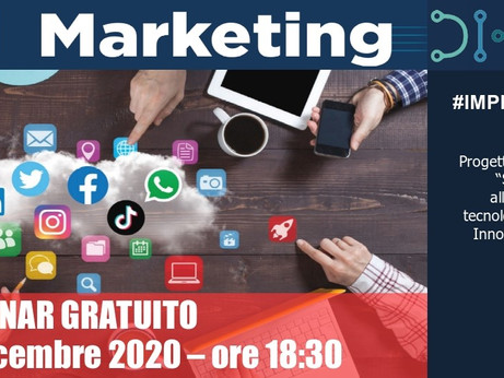 BRESCIA -Digital Marketing: dai social network agli e-commerce, un seminario online