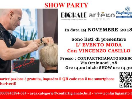 BRESCIA: presenta l'evento Moda con Vincenzo Casillo, punto di riferimento per diverse aziende d