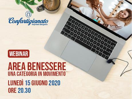 BERGAMO - Webinar dedicato alle imprese area benessere il 15 giugno.