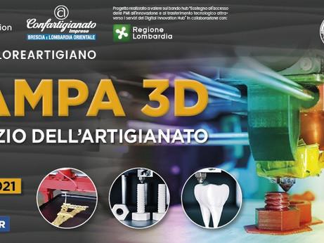 BRESCIA - Seminario web: la stampa 3D al servizio dell'artigianato