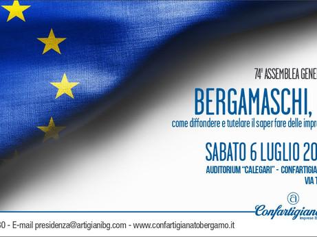 BERGAMO - 74ª Assemblea Generale - Parte pubblica. Sabato 6 luglio ore 9.00