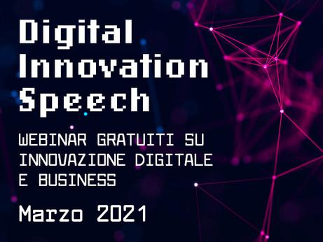 BERGAMO - Digital Innovation Speech. Lunedì 8 marzo webinar su facebook e instagram