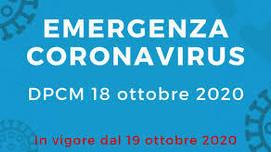 CORONAVIRUS - Nuovo DPCM: stretta alla movida, sospesi convegni e congressi