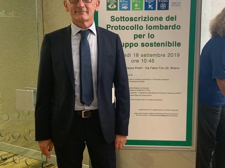 SVILUPPO SOSTENIBILE – Confartigianato Lombardia tra i firmatari del Protocollo voluto da Regione Lo