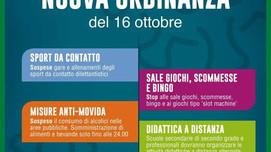 CORONAVIRUS - Regione Lombardia  dispone nuove regole per bar e ristoranti