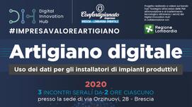 BRESCIA - Artigiano Digitale: uso dei dati per gli installatori di impianti produttivi