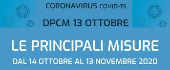 CORONAVIRUS - Approvato nuovo DPCM. Nuove misure anti-Covid