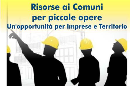 LECCO - Risorse ai Comuni per piccole opere – Opportunità per imprese e territorio.  Incontro marted